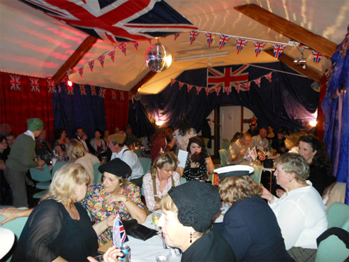 40s night at Milton Village Hall